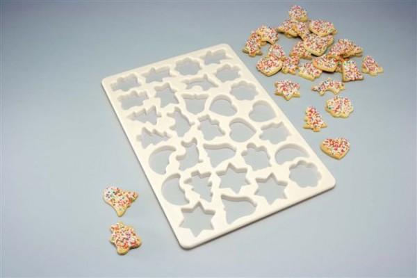 Ausstechschablone für 30 Kekse