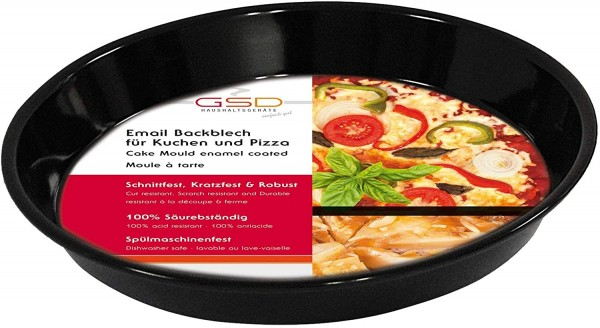 Back-/Pizzablech emailiert 20cm