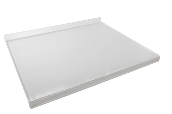 Acryl-Backbrett, 69,5 x 58,5 x 3,8 x 3,8 x 0,6 cm