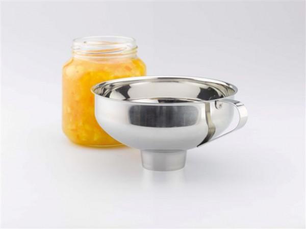 Marmalade Einfrülltrichter aus Edelstahl