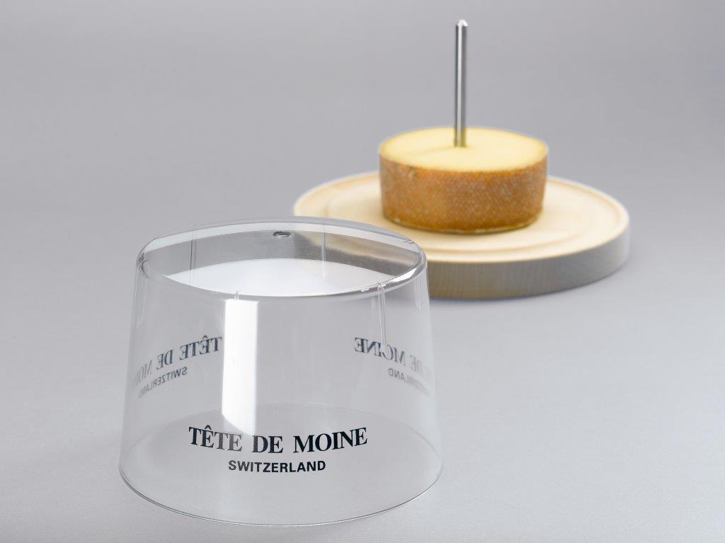"""Plexiglashaube für """"Téte de Moine"""""""