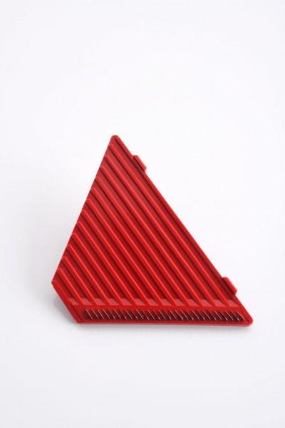 GSD Schneide-Einsatz I für Scheiben und Streifen – beidseitig verwendbar - Rot