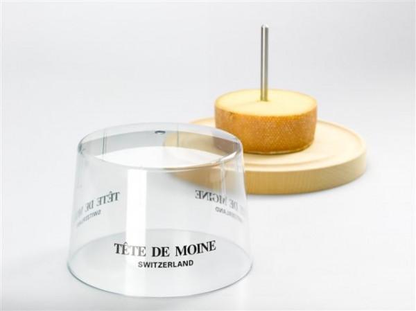 """Plexiglashaube für """"Tête de Moine"""""""