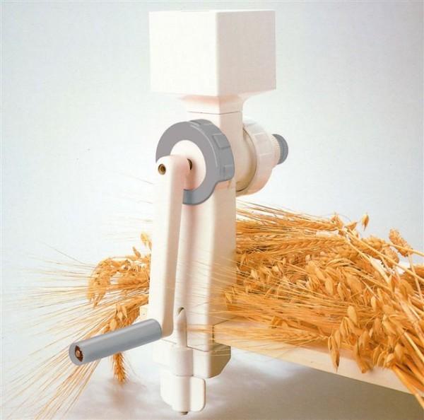 Kornmühle mit Stahlkegel-Mahlwerk